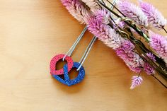 Pretzel Necklace by Whimsy Milieu   #4thJuly