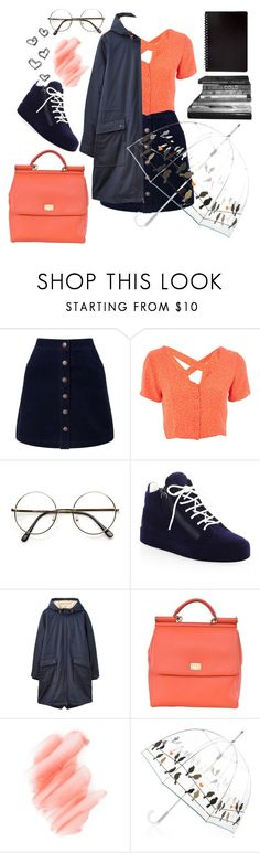 """Study Session: Library Chic"" by zzzombie ❤ liked on Polyvore featuring Miss Selfridge, Nobody's Child, Giuseppe Zanotti, Joules, Dolce&Gabbana and Birchrose + Co."