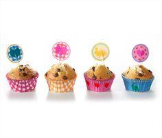 Sada na zdobení muffinů