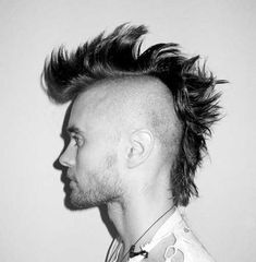 11.Mohawk Hairstyle for Men