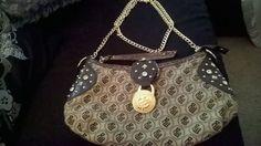 Women Roca Wear chain strap rhinestone handbag #RocaWear #EveningBag