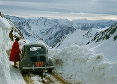 Pyrenees, France, 1956/ Justin Locke, Nat'l Geo
