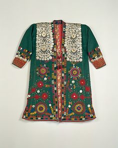 Turkmen Coat, early to mid-20th c., Central Asian, wool