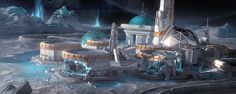 ArtStation - Exterior Concept for Unannounced Project, Chris Tulloch McCabe