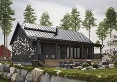 Kuvahaun tulos haulle kannustalo lato blogi  2019  Kuvahaun tulos haulle kannustalo lato blogi  The post Kuvahaun tulos haulle kannustalo lato blogi  2019 appeared first on House ideas. Lake Cottage, Cabins And Cottages, Home Fashion, Prefab, House Front, House Plans, New Homes, Exterior, House Design