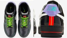 """Your first look at the Nike Air Force 1 """"Vandalized"""" Air Force 1, Nike Air Force, Joker Film, Exclusive Shoes, Jd Sports, Sneaker Brands, Vans Sk8, Reebok, Air Max"""
