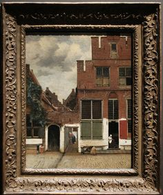 View of Houses in Delft, Known as 'The Little Street', Johannes Vermeer, c. 1658