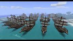 A minecraft fleet...