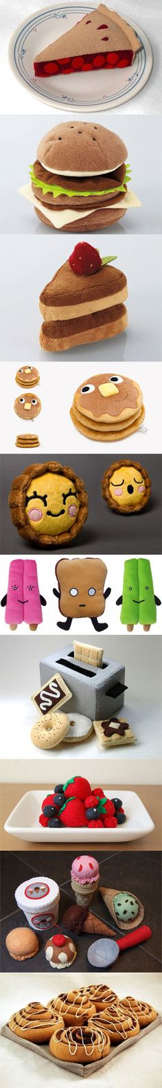 A Nice Gallery of Overly Cute Plush Food Toys More