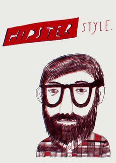hipster style #beard #glasses