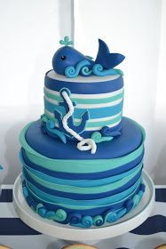 Nautical themed parties are always a favorite for both baby showers and first birthdays especially this past summer. So one more couldn't h...