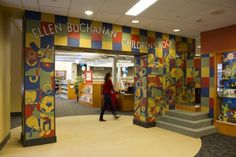 Entrance to the Children's Room at the Iowa City Public Library