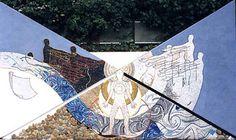 Mosaico mosaic vetro marmo smalti oro pietra sassi architettura arredo riccione design arte artistico art