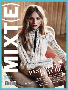 Mixte Magazine Spring Summer 2015 Anna Selezneva by Emma Tempest-7