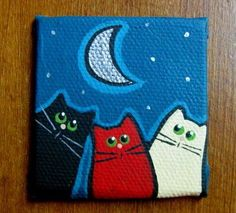 Image result for tiny canvas paintings