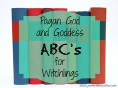 Lately I have been really interested in simple ways to teach my children the mythos of our ancestors. I decided a neat way to teach my kids the ABC's, as well as teach them some lore, would be to i...