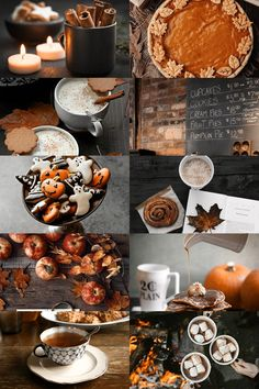 flavours of autumn aesthetic (reblog with your favourite autumn food in the tags?)