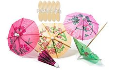 Perfect Stix Parasol pick Tropical Drink Umbrella Picks (Pack of The perfect Accessory for your next backyard BBQ or special event. Each package contains 288 colorful 4 inch. Cocktail Drinks, Cocktails, Spoon Craft, Hawaiian Decor, Hawaiian Tiki, Hawaiian Print, Homemade Lemonade Recipes, Cocktail Umbrellas, Paper Umbrellas