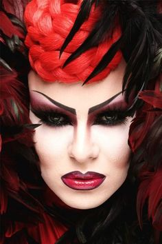 Nina Flowers a.k.a. the best makeup