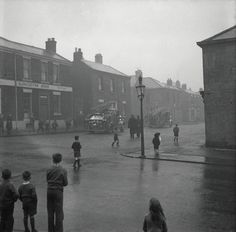 A fire, 1959 - Scotswood Road - Photography - Amber Online