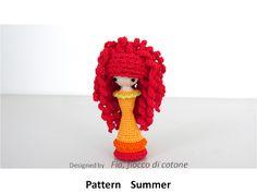 Fia, fiocco di cotone: pattern Summer