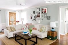 Wall color: oyster bay, sherwin Williams