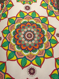 Colouring, Adult Coloring, Neon Colors, Mehndi, Sketching, Beach Mat, Outdoor Blanket, Doodles, Mindfulness