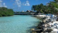 My favorite place... Renaissance Island, Aruba.