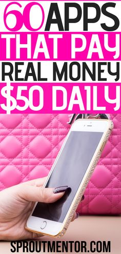 Whether you want apps that pay you to walk shop take surveys or sell stuff here are 60 money making apps you can use to make money online with while working from home. by grecyblue Read Earn Money From Home, Earn Money Online, Online Jobs, Way To Make Money, Best Money Making Apps, Money Saving Tips, Money Tips, Legitimate Work From Home, Work From Home Jobs
