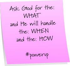 #powerup, #God