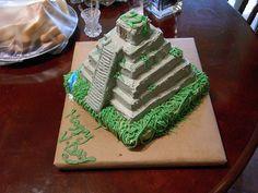Mayan Temple Cake