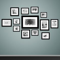 How to Mount Photo Frames on the Wall #bedroomideas