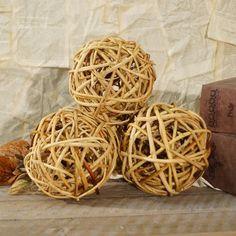 American Mercantile Decorative Wood Filler Ball