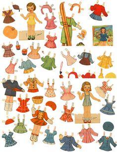 Paper Dolls - #P-2/3