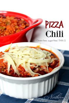Pizza Chili! A hearty, man-pleasing THM S.