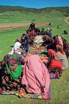 WOMEN'S PICNIC IN RURAL UZBEKISTAN