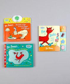 Dr. Seuss Board Book Set by Dr. Seuss #zulily #zulilyfinds