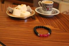 Handmade Black and Purple Beads Rosary Bracelet  by RosaryIstanbul