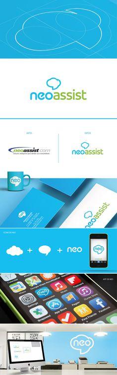 Nova marca Neoassit - Trabalho realizado na agência Oz Estratégia + Design