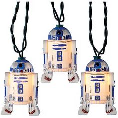 Star Wars lovers will love these R2D2 party lights.