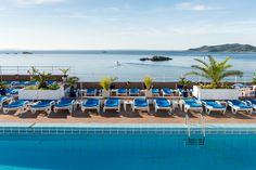 Piscina #HotelCenit #Ibiza