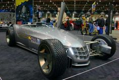 We found this super cool concept car or hot rod that Cadillac built...they call it the VSR. This thing for sure fits in the Killer Fabrication arena.