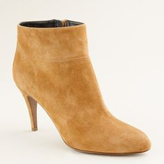 Bellamy Suede Ankle Boots in Burnt Sienna $99.99 J.Crew
