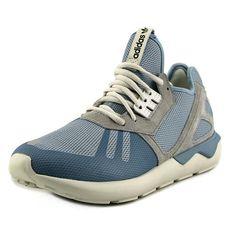Adidas Tubular Runner K Men US 9 Blue Running Shoe, Size: 9 D(M) US, Black