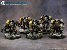 Your Miniature Painting Service Warhammer 40k Space Wolves, Wolf Painting, Warhammer Models, Warhammer 40k Miniatures, Painting Services, Space Marine, Crusaders, Marines, Gallery