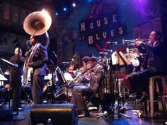 """The New Orleans Jazz Orchestra #NOJO jazzed up rock classics at the House of Blues @HOBNOLA <a href=""""http://nola.tw/SN"""" target=""""_blank"""">http://nola.tw/SN</a>"""