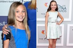 Classed Up: Reality TV Stars Then vs. Now - Maddie Ziegler