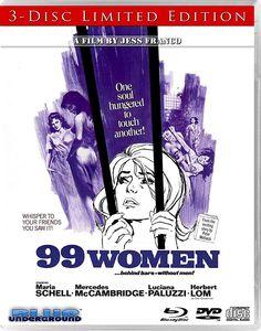99 WOMEN REVERSIBLE ART BLUE UNDERGROUND BLU-RAY