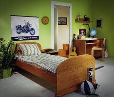 Tomi teenagers room Solid Pine, Teenagers, Nursery, Bed, Room, Furniture, Home Decor, Bedroom, Decoration Home
