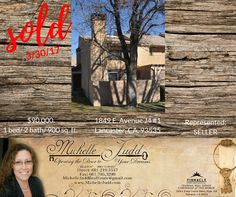 Just sold! Looking to move? I'd love to help! Call or email today for a FREE market evaluation of your home! (661) 219-5517 - or - michellejuddrealestate@gmail.com   #lancaster #palmdale #AV #antelopevalley #sold #realestate #areaspecialist #blessed #anotherhappyseller  #realtor #michellejudd #michellejuddrealestate #661 #homes